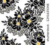 abstract elegance seamless... | Shutterstock . vector #1241635348