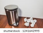household trash and garbage... | Shutterstock . vector #1241642995