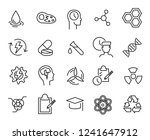 simple collection of... | Shutterstock .eps vector #1241647912