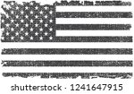black and white grunge american ... | Shutterstock .eps vector #1241647915