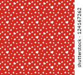 seamless stylish red pattern...