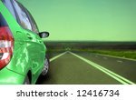 car runing on the highway. | Shutterstock . vector #12416734