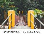 entrance bridge to manzanillo... | Shutterstock . vector #1241675728