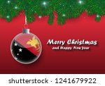 vector border of christmas tree ... | Shutterstock .eps vector #1241679922