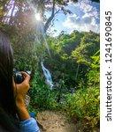 female model shooting in huay... | Shutterstock . vector #1241690845