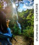 female model shooting in huay... | Shutterstock . vector #1241690848