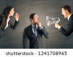 Businesspeople Shouting At...