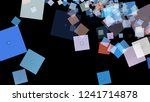 background of squares.... | Shutterstock . vector #1241714878