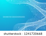 geometric abstract background... | Shutterstock .eps vector #1241720668