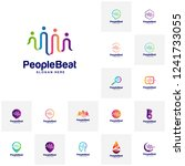 Set Of Community Logo Template...
