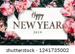 real flowers bloom background... | Shutterstock . vector #1241735002