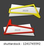 vector graphic design banner... | Shutterstock .eps vector #1241745592