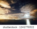 fantastic starry sky over the... | Shutterstock . vector #1241770522