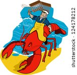 Lobster Sea Captain