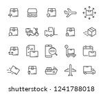 set of send icons  such as... | Shutterstock .eps vector #1241788018