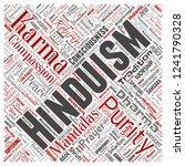 vector conceptual hinduism ... | Shutterstock .eps vector #1241790328