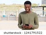portrait of handsome young... | Shutterstock . vector #1241791522