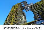 Small photo of Sydney,NSW / Australia - November 11 2018: One Central Park is the world's largest vertical gardens designed, its exemplifies what many envision as the future of urban architecture.