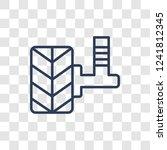 car suspension icon. trendy...   Shutterstock .eps vector #1241812345