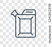 car petrol tank icon. trendy... | Shutterstock .eps vector #1241812378