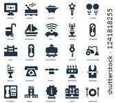 elements such as restaurant ... | Shutterstock .eps vector #1241818255