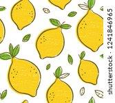 frash lemons modern beauty... | Shutterstock .eps vector #1241846965