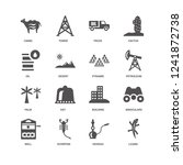 lizard  petroleum  pyramid ... | Shutterstock .eps vector #1241872738
