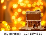 a beautiful  festive and tasty... | Shutterstock . vector #1241894812