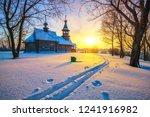 Small Russian Church In Winter...