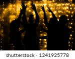 young people are dancing.... | Shutterstock . vector #1241925778