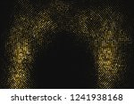 gold glitter halftone dotted... | Shutterstock .eps vector #1241938168