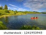 johnsons crossing  yukon ... | Shutterstock . vector #1241953945