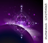 vector illustration of sacred... | Shutterstock .eps vector #1241954065