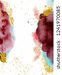watercolor abstract background  ... | Shutterstock .eps vector #1241970085