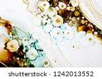 abstract art. modern artwork.... | Shutterstock . vector #1242013552