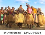 Small photo of African Tribal Dance, Togo. Tribal dancers are dancing in the most charming oakulets. Music and dance are indispensable activity, although there are gorillas attracting you to Rwanda.13 may 2018