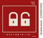 lock  unlock   set  icon....