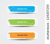 header designs | Shutterstock .eps vector #124207255