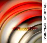 background abstract   liquid... | Shutterstock .eps vector #1242094138