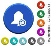 reminder restore round color... | Shutterstock .eps vector #1242100765