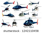 Collection Of Helicopters...