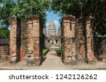 wat si sawai in sukhothai... | Shutterstock . vector #1242126262