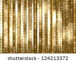strips of shiny colored circles ... | Shutterstock . vector #124213372