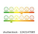 rating icon. vector   Shutterstock .eps vector #1242147085