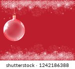 abstract background with red... | Shutterstock .eps vector #1242186388