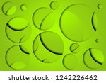 beautiful lime abstract... | Shutterstock . vector #1242226462