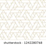 abstract geometric pattern with ... | Shutterstock .eps vector #1242280768