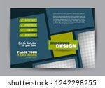 flyer  brochure  billboard... | Shutterstock .eps vector #1242298255