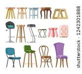 chair vector comfortable... | Shutterstock .eps vector #1242301888