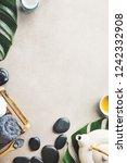 spa wellness relax concept. spa ... | Shutterstock . vector #1242332908